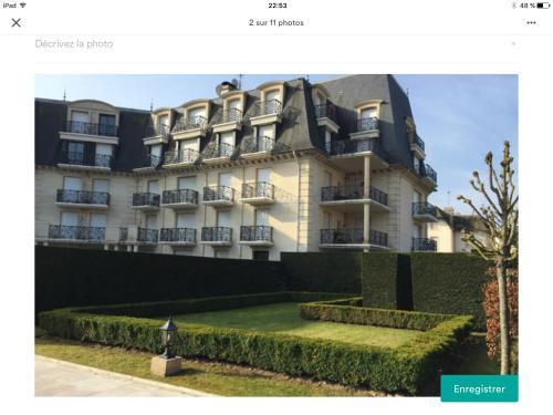 Deauville rez de jardin : Apartment near Deauville