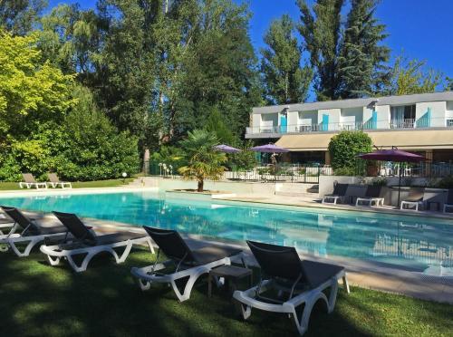 Cajarc Blue Hotel : Hotel near La Capelle-Balaguier