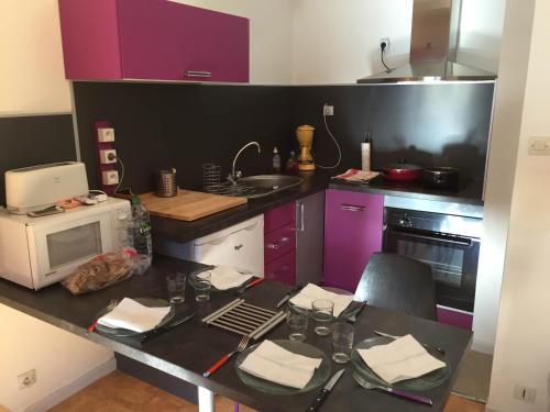 Appartement Duplex : Apartment near Saint-Mamet