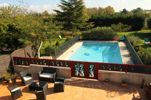 Le Mas des Cerisiers : Guest accommodation near Le Temple-sur-Lot