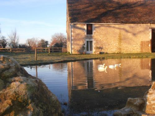 Les Brandes : Guest accommodation near Poulaines