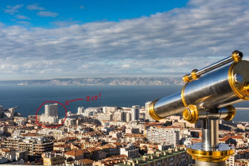 Saint George : Apartment near Marseille 7e Arrondissement
