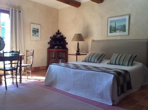 Chambres D'Hôtes Le Mas du Caroubier : Bed and Breakfast near Saint-Victor-des-Oules