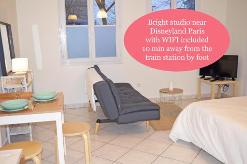 Appartement proche Disney : Apartment near Vaires-sur-Marne