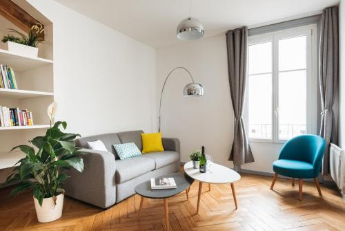 DIFY Cosy - Centre Ville : Apartment near Lyon 6e Arrondissement