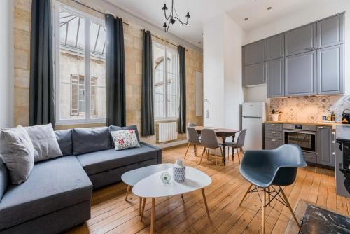 Luckey Homes - Rue du Parlement Sainte-Catherine : Apartment near Bordeaux