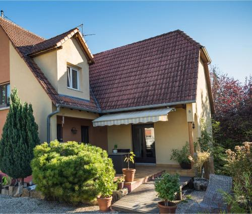 Les Mimosas à Sélestat : Guest accommodation near Hessenheim