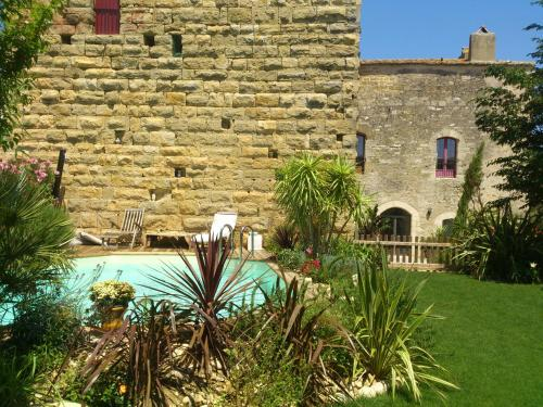 Château de Moussac - Gîte : Guest accommodation near Brignon