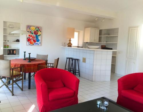 Apartement les Roses Rouges : Apartment near Grimaud