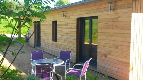 cottage la malterre : Guest accommodation near Saint-Laurent-d'Andenay