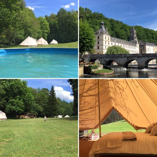 Belair le Camping : Guest accommodation near Saint-Martial-de-Valette