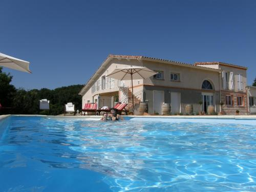 Villa Monplaisir : Bed and Breakfast near Lafitte-Vigordane