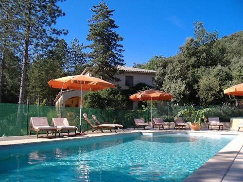 Les Jardins de Valaurie : Guest accommodation near Corbès