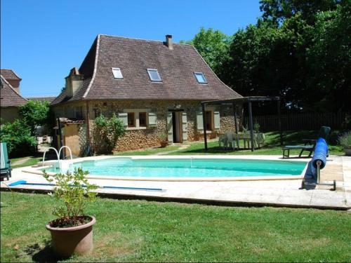Holiday home Bonnefille : Guest accommodation near Saint-Félix-de-Villadeix