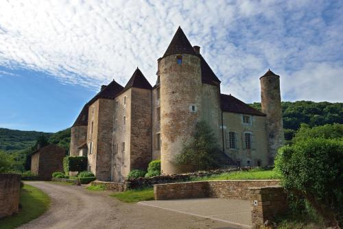 Chateau de Balleure : Guest accommodation near La Chapelle-sous-Brancion