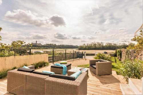 Un Brin de Loire : Guest accommodation near Saint-Laurent-du-Mottay