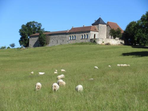 CHAMBRES D'HÔTES AVEC VUE PANORAMIQUE AU SOMMET DU PÉRIGORD : Bed and Breakfast near Saint-Pantaly-d'Ans