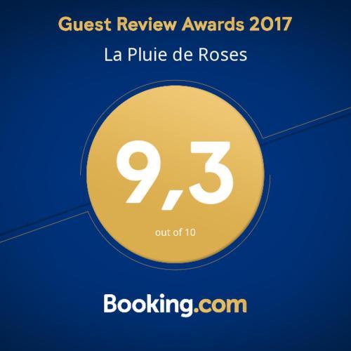 La Pluie de Roses : Bed and Breakfast near Méricourt