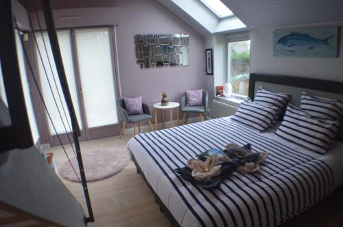 Mon petit coin de Bretagne : Bed and Breakfast near Merlevenez
