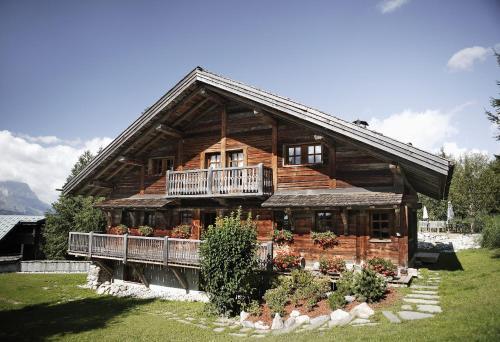 Chalet Chatel : Guest accommodation near Combloux