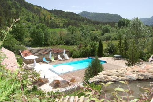 Le Moulin De Ravel : Guest accommodation near Glandage