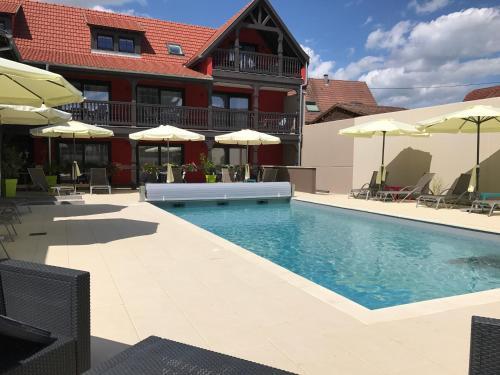 Au Soleil, Hôtel Restaurant & Spa : Hotel near Erstein