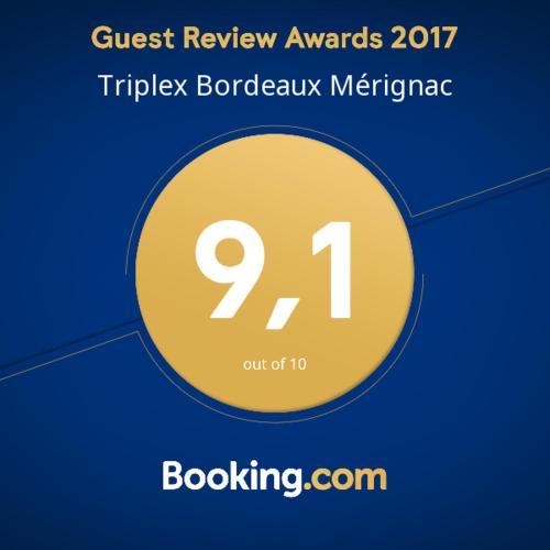 Triplex Bordeaux Mérignac : Apartment near Pessac