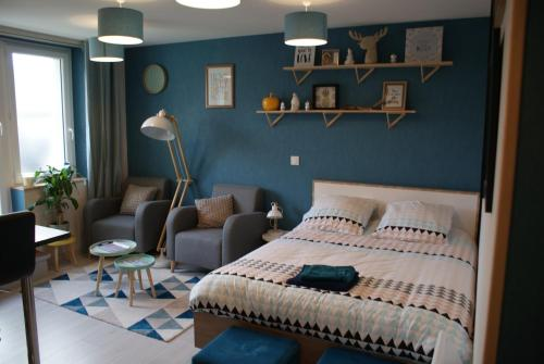 Studio Esprit LOFT : Apartment near Brives