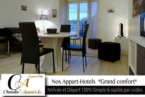 Appart'hôtel Chambrappart : Apartment near Saint-Pierre-Canivet