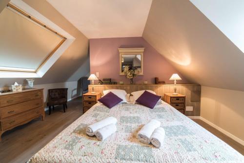 La Ferme de Kerraoul : Bed and Breakfast near Tréméoc