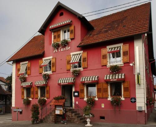 Hotel Restaurant A l'Ange : Hotel near Wœrth