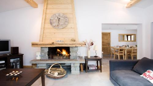 Chalet Dahu : Guest accommodation near Les Houches