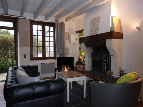 La Chaumière de Beaumont : Guest accommodation near Heugnes