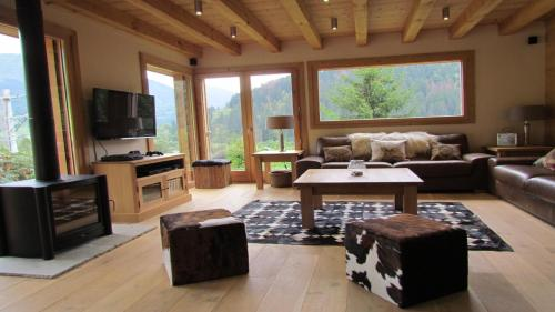 Chalet Lynx : Guest accommodation near Les Houches