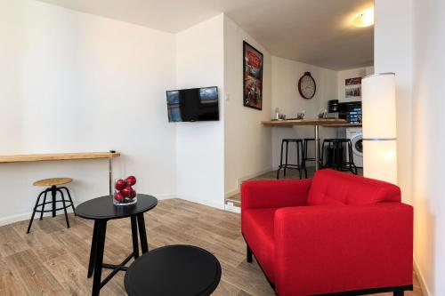 Coca gare : Apartment near Orcet