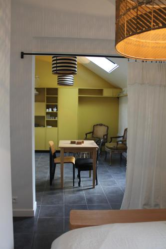 L'abri du monde : Guest accommodation near Longchamps