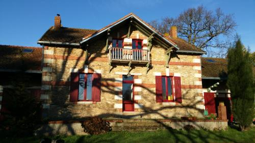 Domaine du Hardrais : Bed and Breakfast near Saint-Nicolas-de-Redon