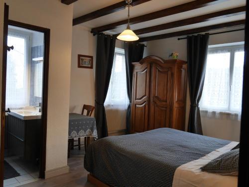 Chambre d'Hôte La Montagne Verte : Bed and Breakfast near Labaroche