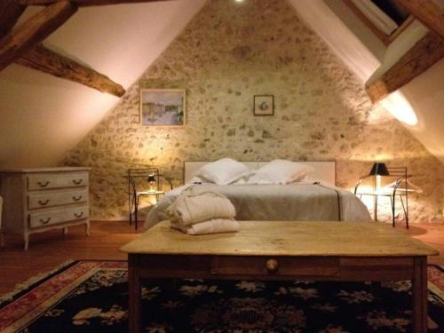 La Touche : Bed and Breakfast near Anjouin