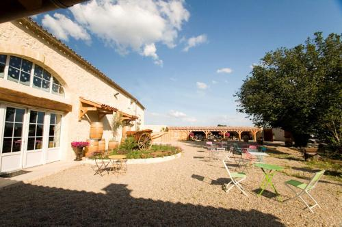 L'Ilot Vignes : Bed and Breakfast near Saint-Aubin-de-Branne