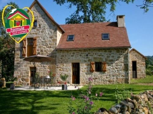 House Esprit de pierres : Guest accommodation near Carayac