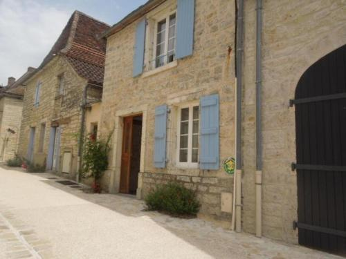 House La tonnelle : Guest accommodation near Ginouillac