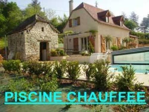 House Cajarc - 8 pers, 120 m2, 5/4 : Guest accommodation near Sainte-Croix
