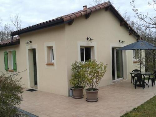 House Lalbenque - 4 pers, 75 m2, 3/2 : Guest accommodation near Cayriech