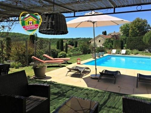House Le cantalou : Guest accommodation near Sainte-Alauzie