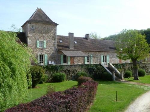 House Domaine de brivat 1 : Guest accommodation near Montbrun