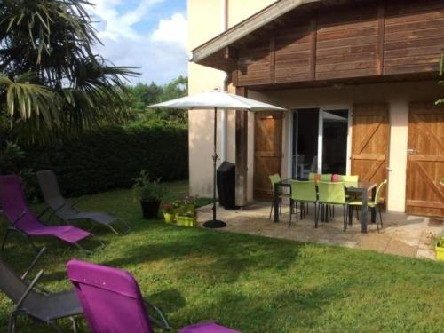 House Grand maury : Guest accommodation near Biaudos