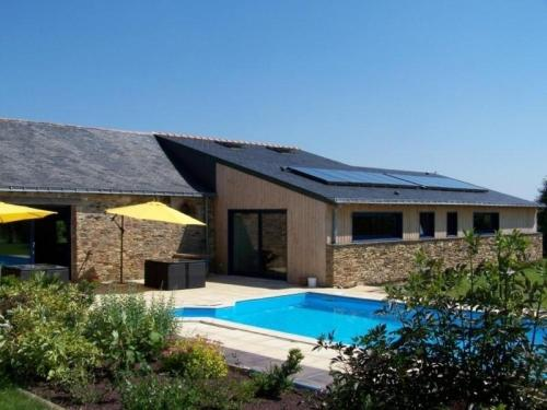 House Nort-sur-erdre - 14 pers, 182 m2, 6/5 : Guest accommodation near Puceul