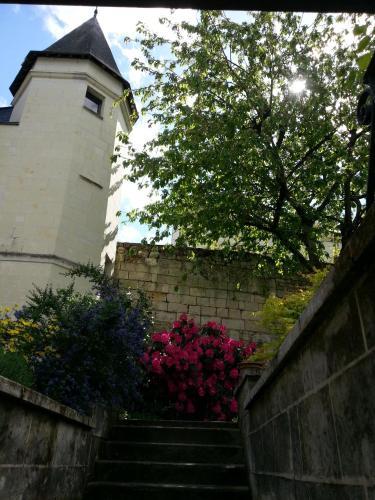 le prieuré : Bed and Breakfast near Montsoreau