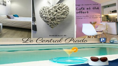 Le central Prado : Apartment near Marseille 8e Arrondissement